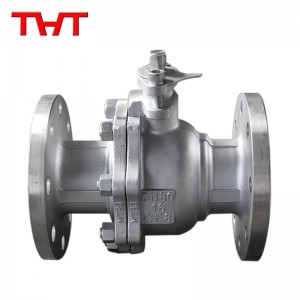 Stainless steel float ball flange ball valve