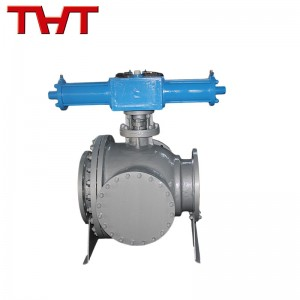 Hydraulic three way ball valve