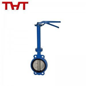 long stem ductile iron butterfly valve