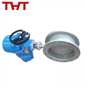 electric air damper valve for gas