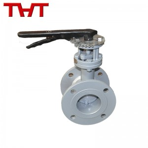 hand lever operated air damper valve