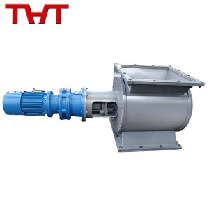 carbon steel star type discharging valve