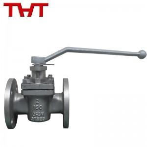 stainless steel 150lb flange plug valve