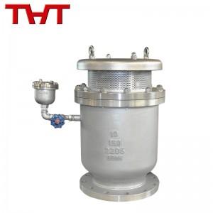 duplex steel dual orifice high speed compound air release valve