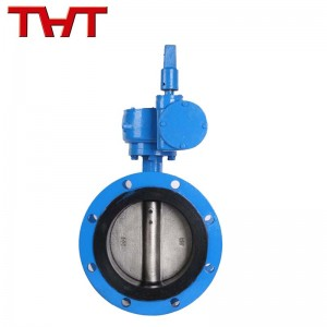 Chinese wholesale Flanged Butterfly Valve - Underground pipe network flange butterfly valve – Jinbin Valve