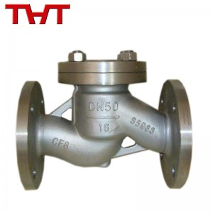stainless steel flange lift type check valve