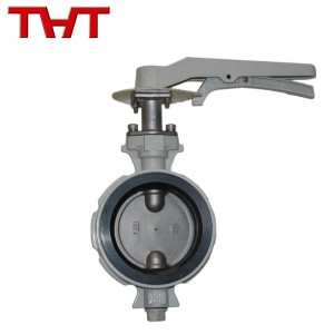 wafer center line butterfly valve against condensation