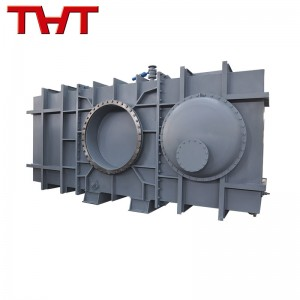 Hydraulic operate closed type blind plate valve
