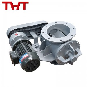 Quality Inspection for Stainless Steel Basket Filter Strainer - rotary star type discharging valve  – Jinbin Valve