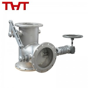 manual three way diverter damper valve