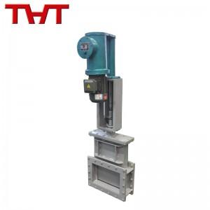 Electro hydraulic operated slide gate valve