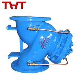 Multi-function water pump control valve