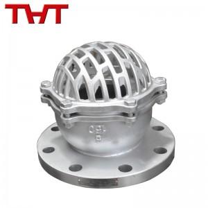 stainless steel ASME flange foot valve