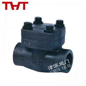 socket welded forged check valve
