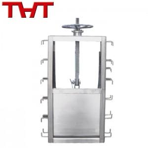 OEM manufacturer Electric Butterfly Valve - stainless steel channel type penstock valve – Jinbin Valve