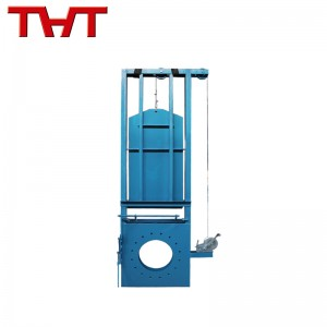 Windlass type sluice damper