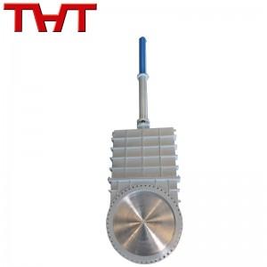 OEM manufacturer Ss304 316 Gate Valve - Ansi hydraulic knife gate valve – Jinbin Valve