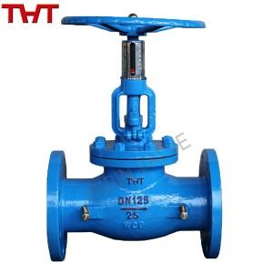Balancing valve for flow pressure control