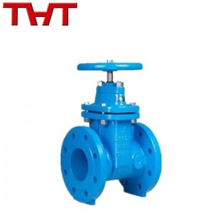 Good Wholesale VendorsWcb Globe Valve - DIN3352 F4 NRS resilient seated iron gate valve for water – Jinbin Valve