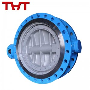 Bidirectional sealing triple eccentric butterfly valve