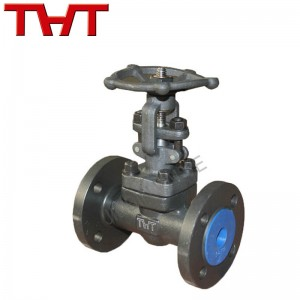 A105 Forged steel rising stem flange gate valve