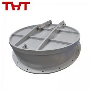 cast iron round flap valve