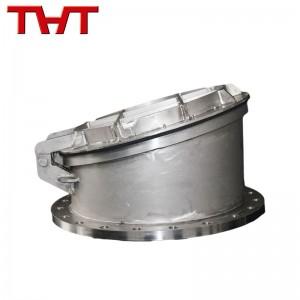 stainless steel round flap valve
