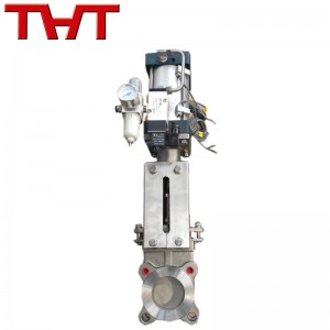 Bi-directional metal sealing knife gate valve