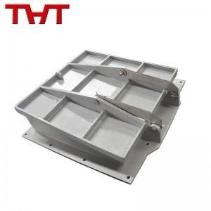cast iron square flap valve