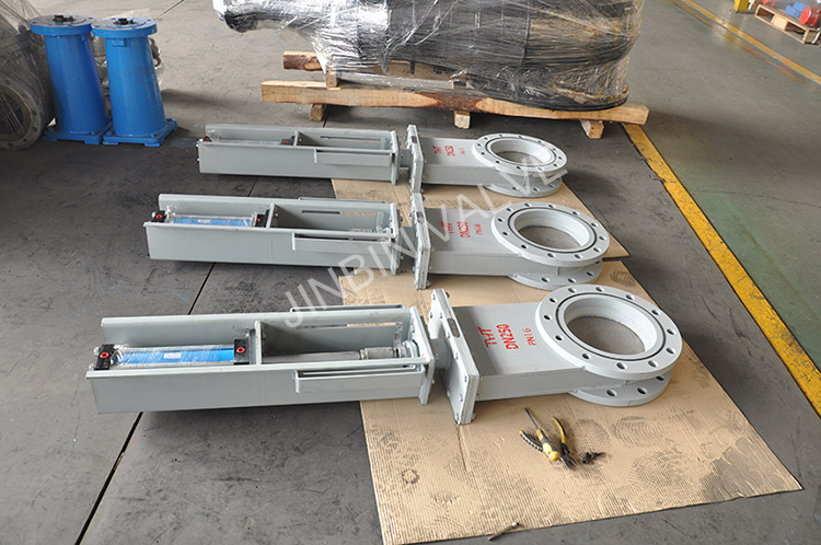 The slide gate valve for dust can be customized in Jinbin