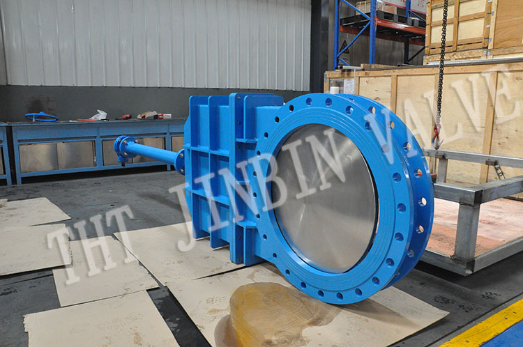The successful acceptance of knife gate valves of DN1200 and DN800