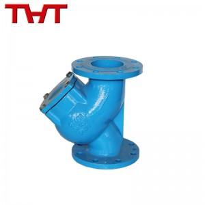 Ductile iron flange Y type strainer