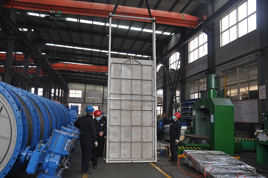 Penstock manufacture-JINBIN VALVE