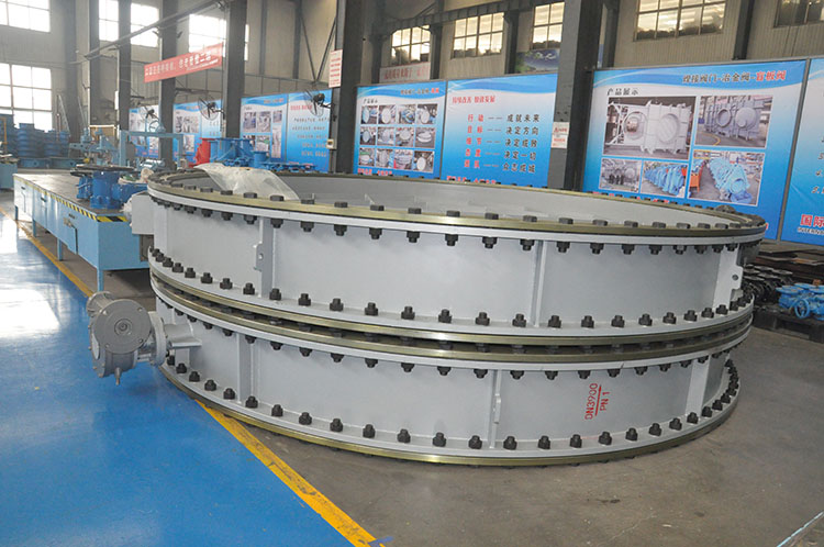 The production of dn3900 and DN3600 air damper valves has been completed