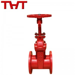 fire rising stem resilient seat gate valve