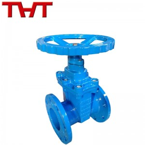 DIN3352 F4 NRS Metal seat cast iron gate valve  for steam water and oil