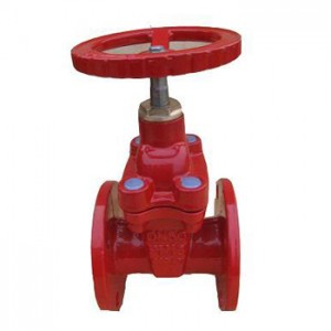 Discountable price Gate Valve Double Sealing - resilient seated non- rising stem fire fighting gate valve – Jinbin Valve