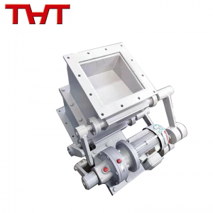 Double Layer Electric Actuator Drive Tipping Valve for Discharging