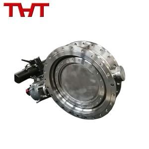 Low MOQ for Hydraulic Pilot Operated Check Valves - Duplex 2205 welding process eccentric flange end butterfly valve – Jinbin Valve
