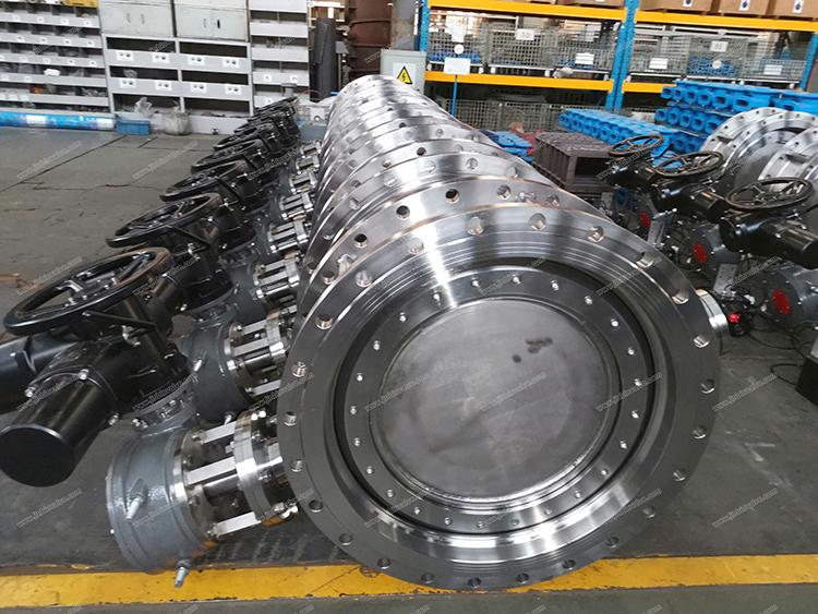 Duplex steel butterfly valve for seawater