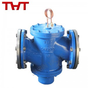 Sel-operate differential pressure control valve