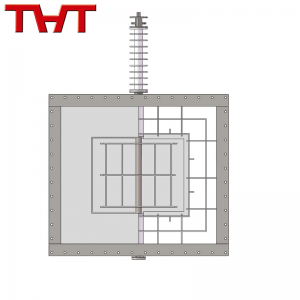 Rectangle Refractory Lined Damper Valve