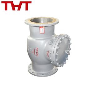WCB flange swing check valve