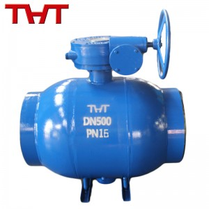 Fixed carbon steel ball valve