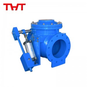 AWWA Pneumatic swing check valve with air cushioned cylinder