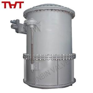 Fixed cone discharge valve