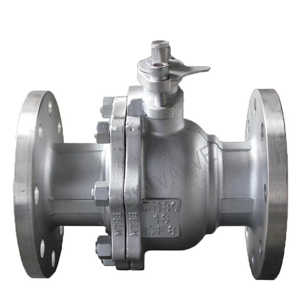 Best-Selling Cast Steel Y Type Strainer - Stainless steel float ball flange ball valve – Jinbin Valve