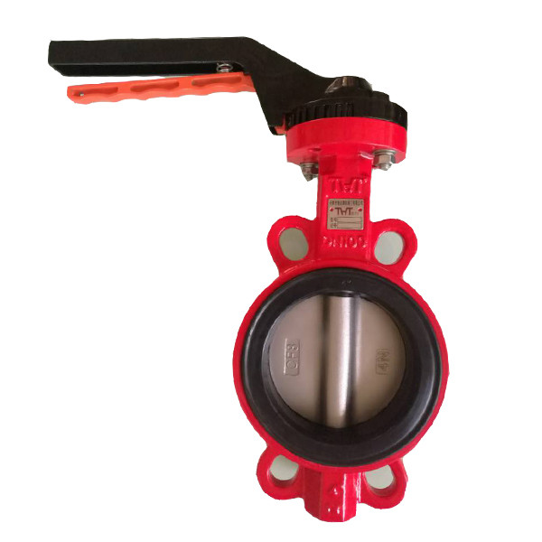 Factory source High Performance Butterfly Valves - Handle soft back butterfly valve – Jinbin Valve