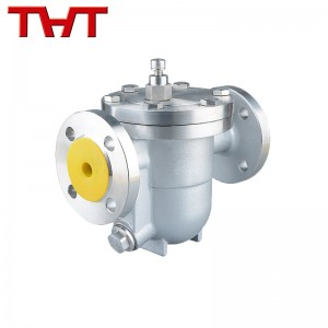 Free floating ball steam trap flange type