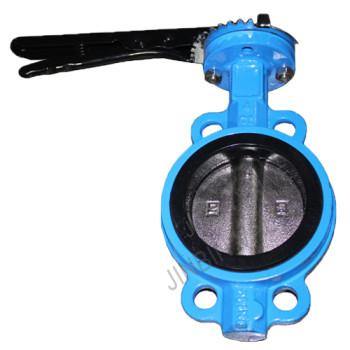 18 Years Factory Butterfly Check Valve Dn100 - Wafer type cast iron center line butterfly valve – Jinbin Valve